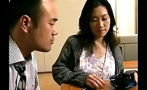 Japanese hot wife cheats  with neighbor when her scrimp is sleeping