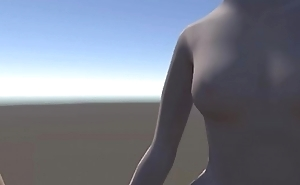 3d animation - nude girls