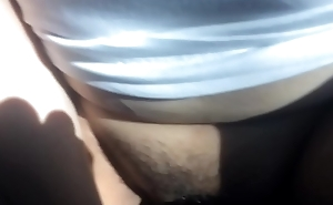 Mexican gf getting fucked almost backseat by bbc