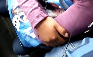 GROPED WITH HAND