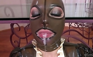 Latex Lucy Cumshot Compilation
