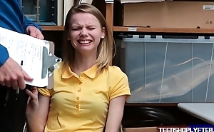 Crying teen Catarina Petrov get a way out from felony charge