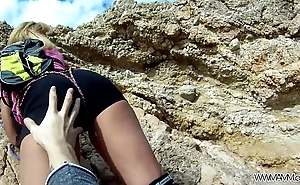 MyFirstPublic Instructor of climbing think the world of her student by the sea