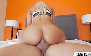 Check this out. Outstanding blonde babe with amazig bum slammed eternal