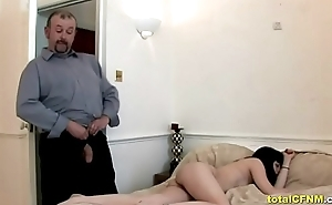 Mature Guy Receives A Handjob