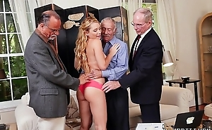 Frankie And Get under one's Gang Tag Team Door-To-Door Saleswoman, Raylin Ann