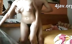 4jav.org  - Chinese Housewife get Fucked so hard
