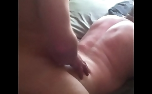 Wife watches and records husband fucking another man