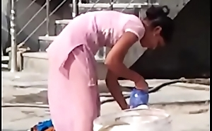 indian desi hor randi townsperson schoolgirl washing