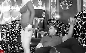 Having a drink in a club, they end up fucking. Homemade voyeur taped IV065
