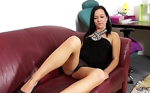 Promising brunette do exactly what agent state and fuck like animal