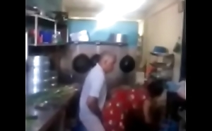 Srilankan chacha fucking his maid in Nautical galley quickly