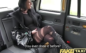 Fake Obsolete horse-drawn hackney Local escort fucks taxi man on her way to a consumer