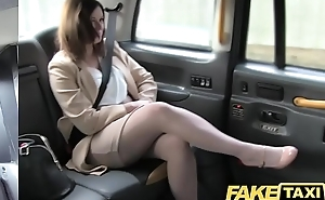Fake Taxi Office romance revenge roughly london cabby