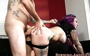 Emo whores ass pounded