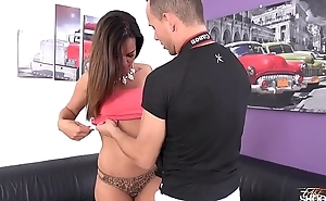 Milf whore came to fake casting show her big tits &amp_ enjoy really great fuck