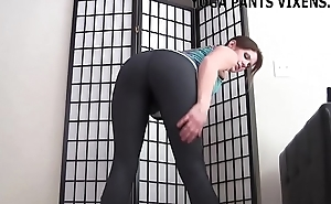 Let me give you a handjob in my new yoga pants JOI