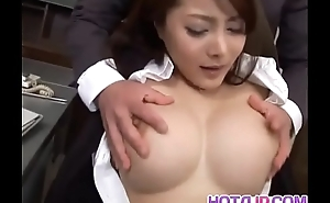 Mei Sawai with big tits is fucked give beaver