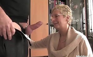 Bbvideo.com Short haired German granny fucks